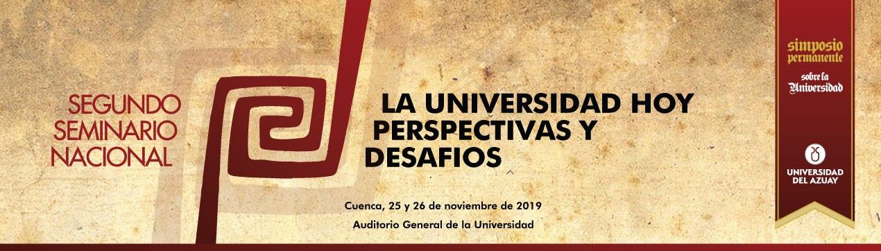 1er Seminario Internacional de Pensamiento sobre la Universidad